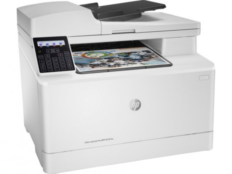 HP Color LasesrJet Pro MFP M181fw A4, LAN, WiFi, ADF, fax