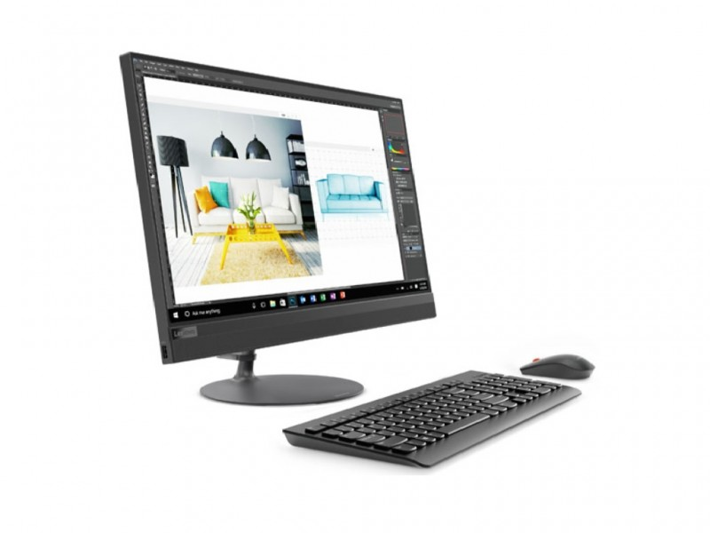 Lenovo IdeaCentre AIO 520-24ICB Intel i3/23.8 FHD Touch/8GB/1TB/IntelHD/DVDRW/USB KB&M/DOS/Black (F0DJ00D8YA)