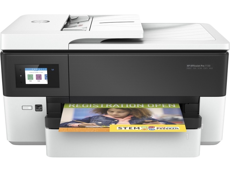 3G HP OfficeJet Pro 7720 Wide Format All-in-One A3, Lan,Wifi, duplex, fax
