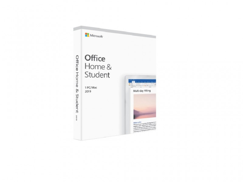 Office Home and Student 2019 English CEE Only Medialess (79G-05061)