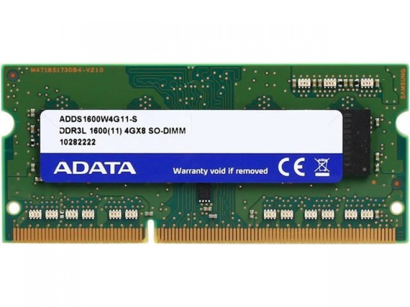 SO-DIMM DDR3L 4GB 1600MHz ADDS1600W4G11-B bulk