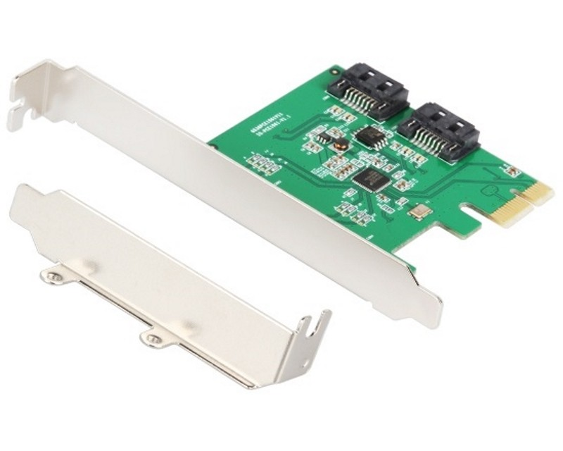E-GREEN PCI-Express kontroler 2-port SATA III RAID