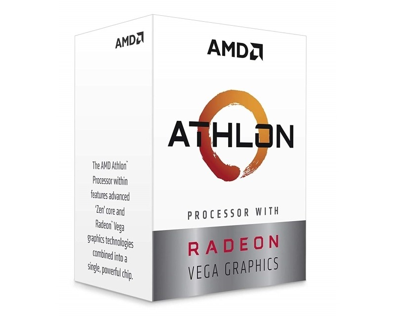 AMD Athlon 220GE 2 cores 3.4GHz Box