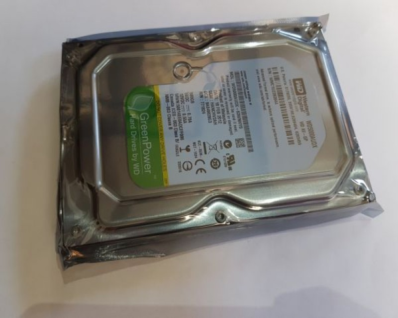 HDD 3.5 ** 500GB WD AV-GP GREEN IntelliPower 32MB SATA3 WD5000AUDX (34ky)