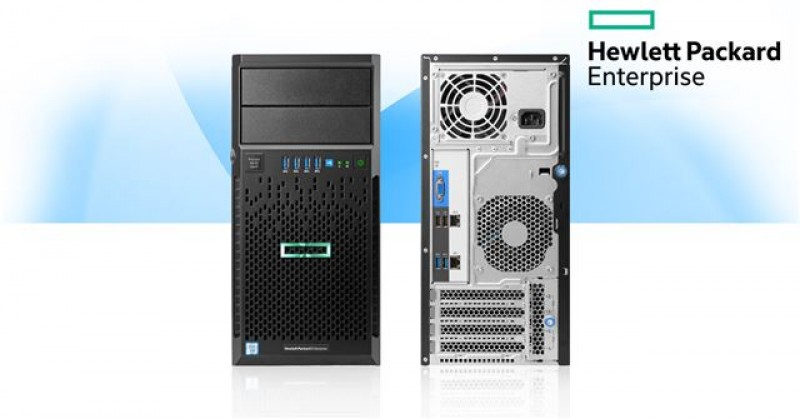 Server HPE ML30 GEN9 E3-1220V6 8GB NHP 2x1Gb 350W