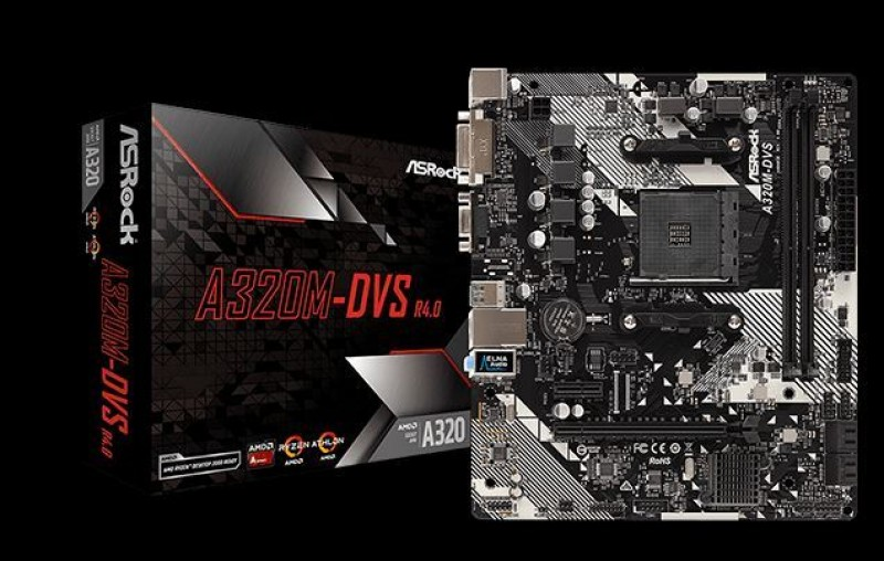 MBO AsRock AM4 A320M-DVS R4.0