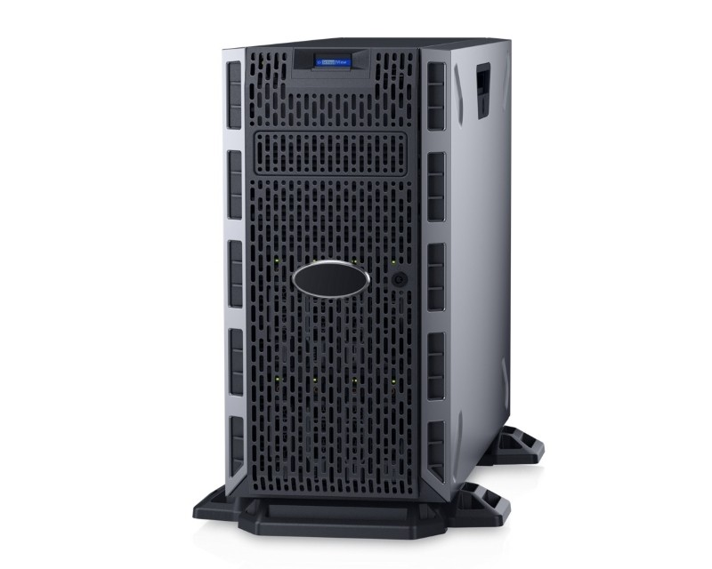 DELL PowerEdge T330 Xeon E3-1230 v6 4C 1x8GB H730 600GB SAS DVDRW 495W (1+0) 3yr NBD