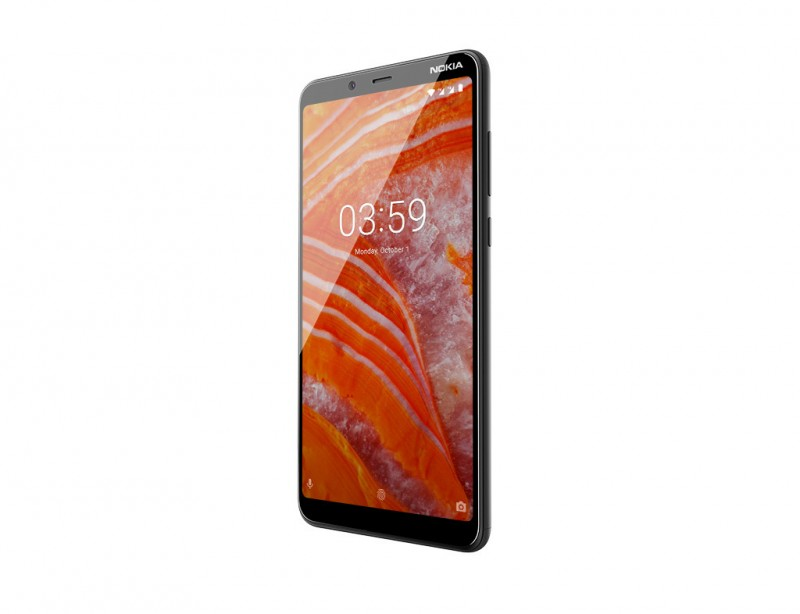 Nokia 3.1 Plus DS Charcoal Dual Sim (11ROOD01A17)