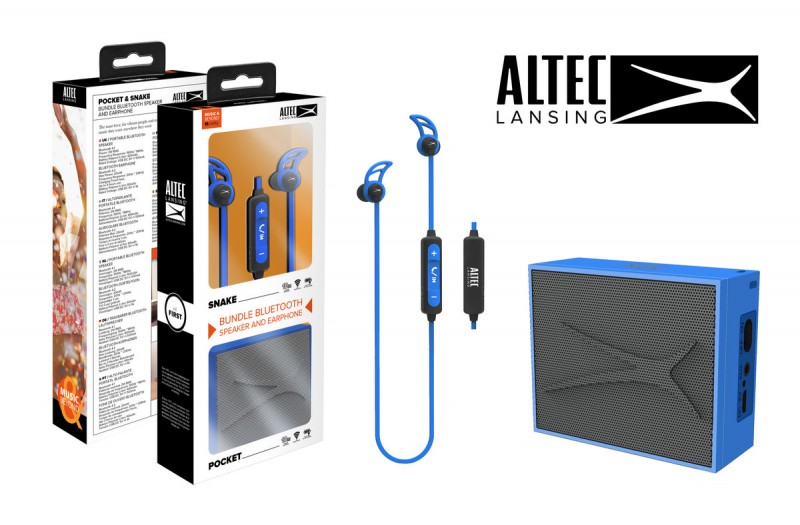Altec Snake+ Pocket Blue ( 7601226 )