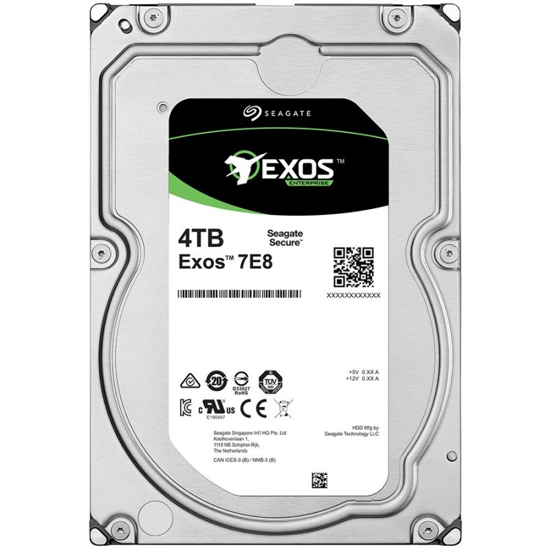 SEAGATE HDD Server Exos 7E8 512N (3.5  4TB   128m  SAS 12 Gb s  7200rpm) ( ST4000NM0025 )