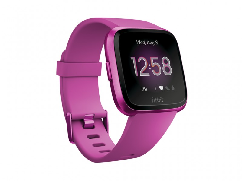 Fitbit Versa Lite, Mulberry/Mulberry (FB415PMPM)