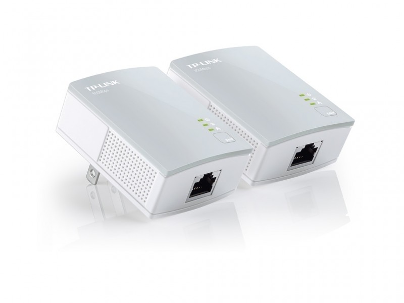 TP-LINK Powerline adapter AV600 600Mbps, Homeplug AV (duplo pak.) domet 300m (TL-PA4010KIT)