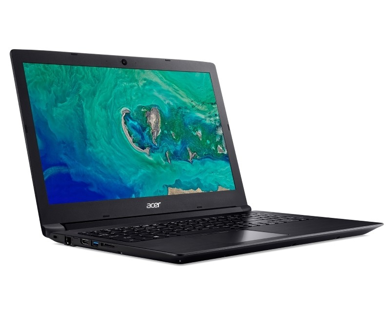 ACER Aspire A315-33-16PW Intel Atom E8000 Quad Core 1.04GHz 4GB 500GB 2-cell crni