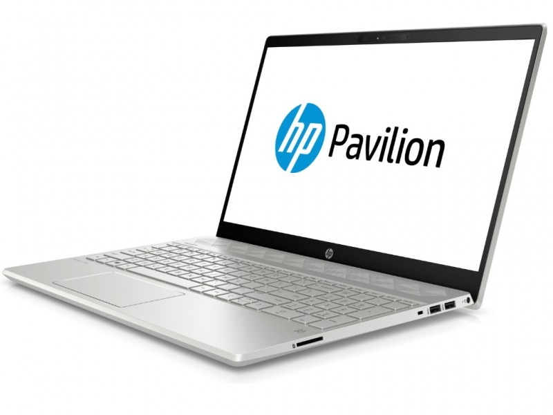 HP Pavilion 15-cs0004nm i3-8130U15.6FHD AG SVA4GB1TBUHD Graphics 620FreeDOSSilver (4RL04EA)