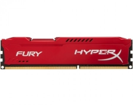 KINGSTON DIMM DDR3 4GB 1866MHz HX318C10FR4 HyperX Fury Red