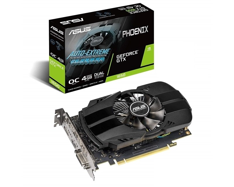 ASUS nVidia GeForce GTX 1650 4GB 128bit PH-GTX1650-4G