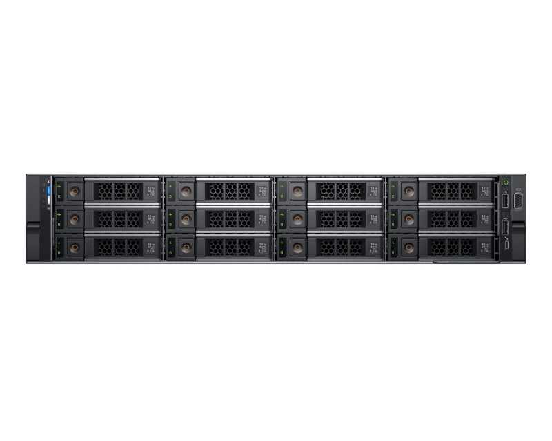 DELL PowerEdge R540 1x Xeon Silver 4110 8C 16GB H730P 600GB SAS 750W (1+1) 2yr NBD + šine za rack