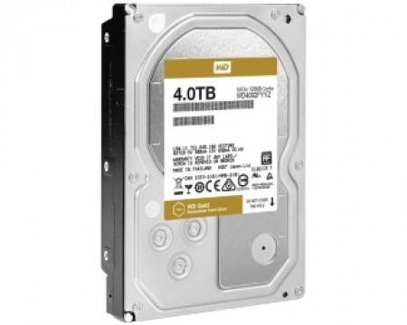 WD 4TB 3.5 SATA III 128MB 7.200rpm WD4002FYYZ Gold