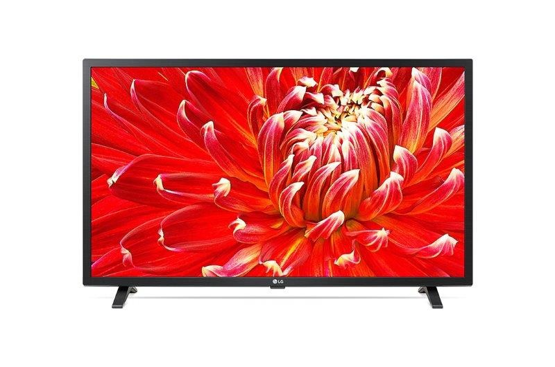 LG 32LM630BPLA LED TV 32 HD-Ready, WebOS ThinQ AI SMART, T2, Black,Two pole stand (32LM630BPLA)