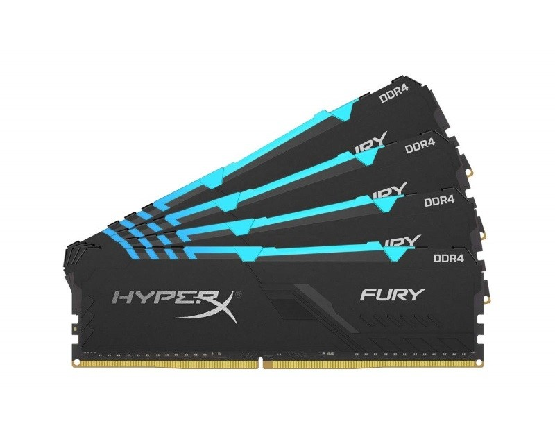 KINGSTON DIMM DDR4 64GB (4x16GB kit) 3466MHz HX434C16FB3AK4 64 HyperX Fury RGB
