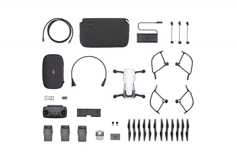 DJI MAVIC AIR Fly More Combo Arctic White (CP.PT.00000168.02)