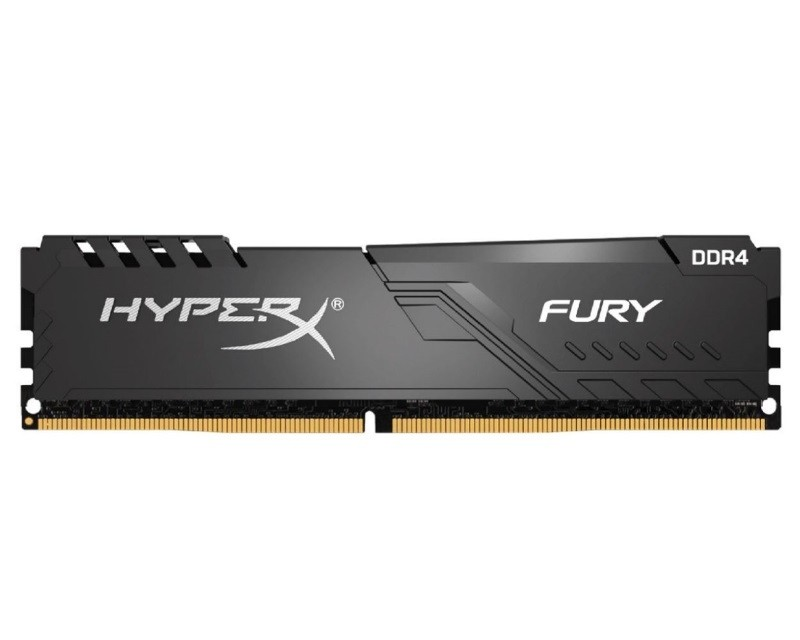 KINGSTON DIMM DDR4 8GB 3200MHz HX432C16FB3 8 HyperX Fury Black