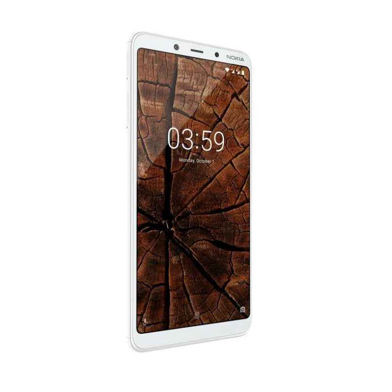 Nokia 3.1 Plus DS White Dual Sim (11ROOW01A02)