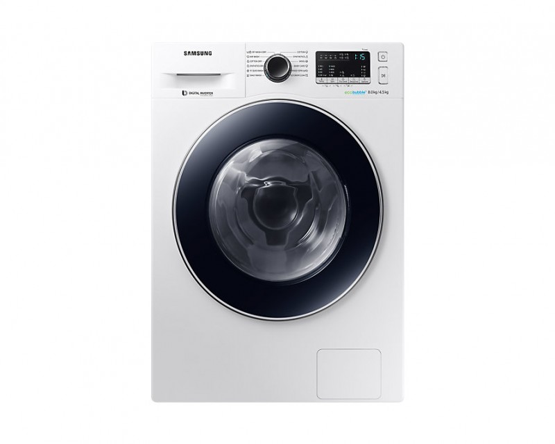 Samsung WD80M4A43JW masina za pranje i susenje, 8/4.5kg, DIT, 1400 rpm, A, bela (WD80M4A43JW/LE)