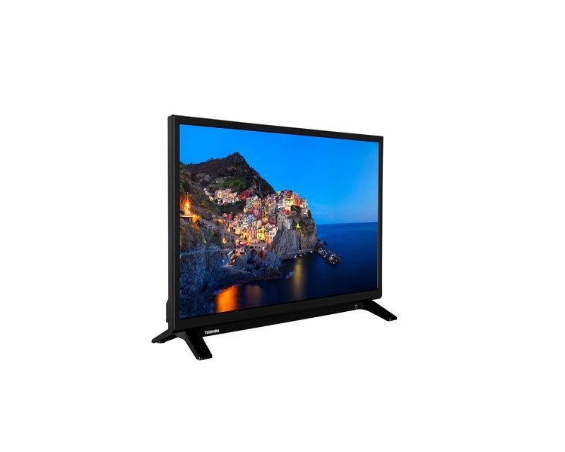 Toshiba 24WL1A63DG LED TV 24HD Ready, DVB-T2, black, two-pole stand (24WL1A63DG)