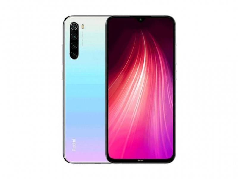 Xiaomi Redmi Note 8T 64GB Moonlight White (MZB8478EU)