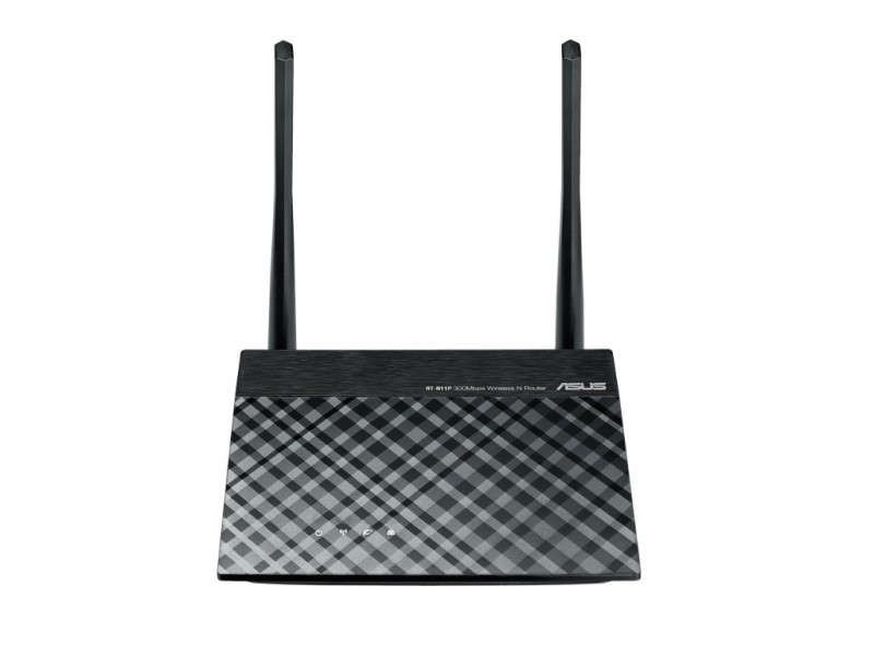 Asus Wi-Fi Ruter RT-N11P 3-in-1 Router/AP/Range Extender for Large Environment (RT-N11P)