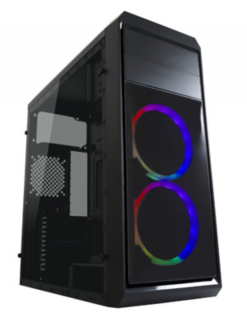 TOWER LC Power Gaming 999B-ON Phantasm 2xUSB3.0 Black RGB Fan