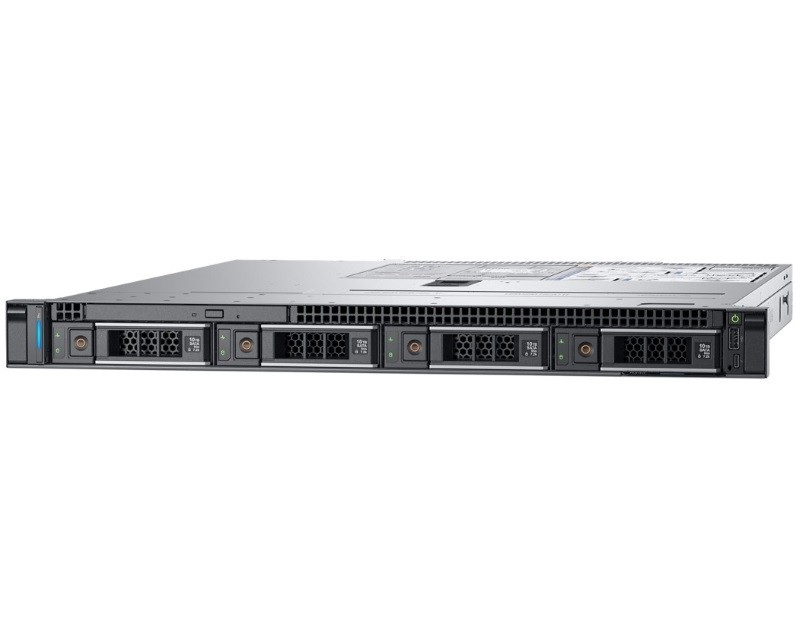 DELL PowerEdge R340 Xeon E-2124 4C 1x8GB H330 1TB SATA 350W (1+0) 3yr NBD + Sine za Rack