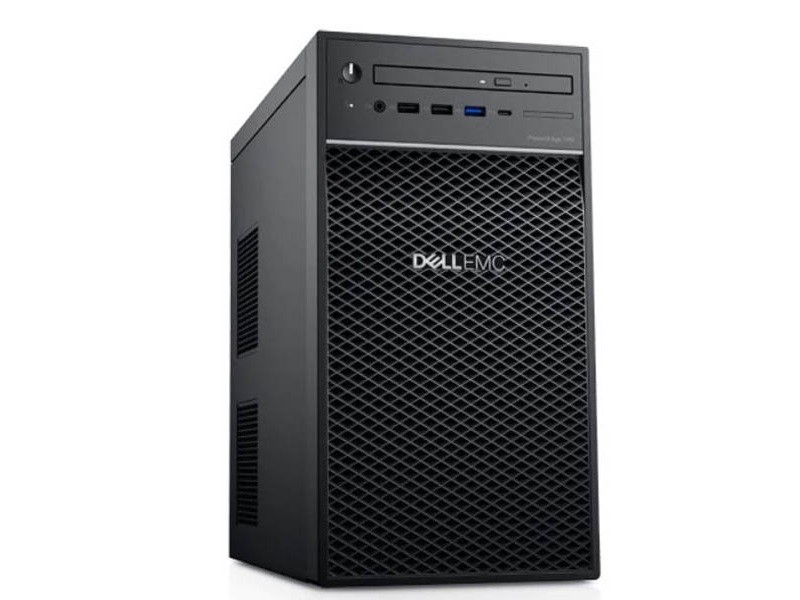 DELL PowerEdge T40 Xeon E-2224G 4C 1x8GB 1x1TB SATA DVDRW 3yr NBD