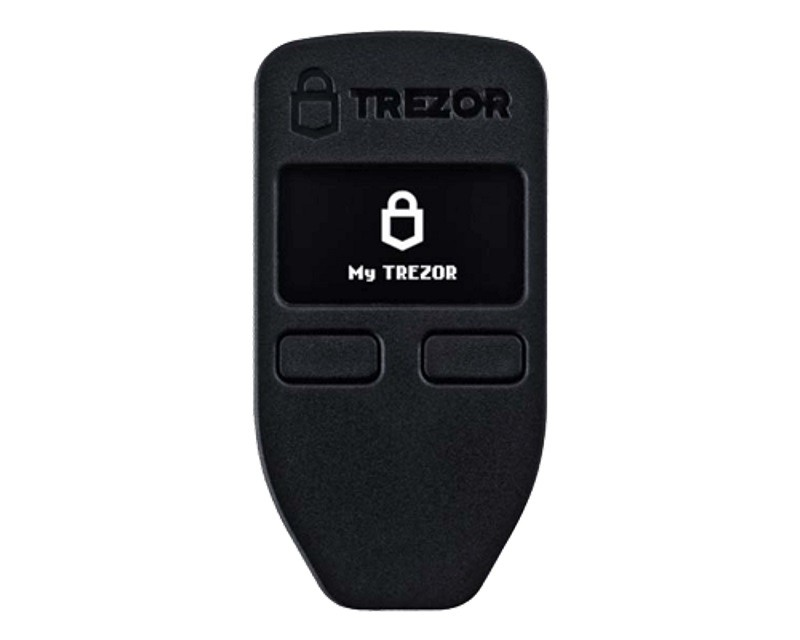 TREZOR Trezor Black Cryptocurrency Hardware Wallet digitalni novčanik