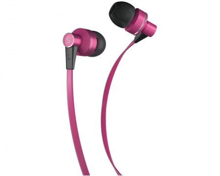 SENCOR SEP 300 slušalice sa mikrofonom pink