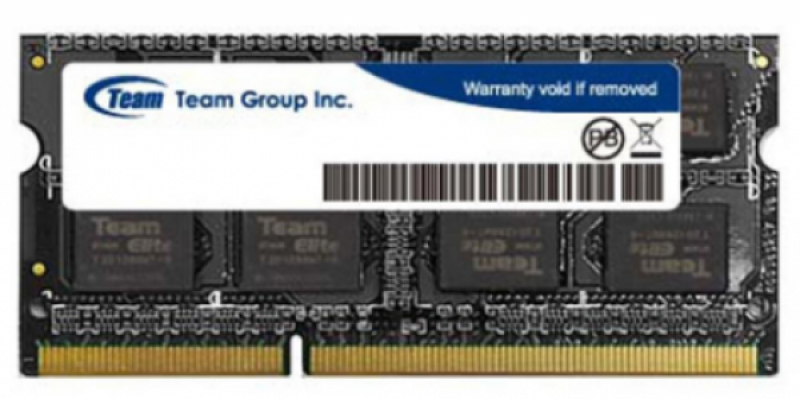 TeamGroup DDR4 TEAM ELITE SO-DIMM 4GB 2400MHz 1,2V 16-16-16-39 TED44G2400C16-S01