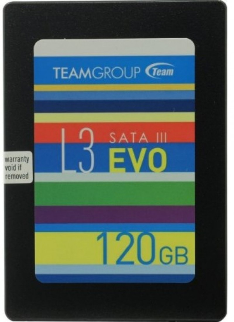 TeamGroup 2.5 120GB  SSD SATA3 L3 EVO 7mm 500/360MB/s T253LE120GTC101