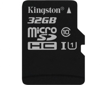 KINGSTON UHS-I MicroSDHC 32GB class 10 SDC10G232GBSP