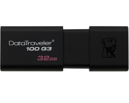 KINGSTON 32GB DataTraveler 100 Generation 3 USB 3.0 flash DT100G332GB