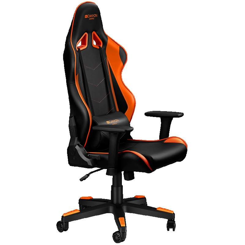 Gaming chair, PU leather, Original foam and Cold molded foam, Metal Frame, Butterfly mechanism, 90-165 dgree, 3D armrest, Class 4 gas lift,