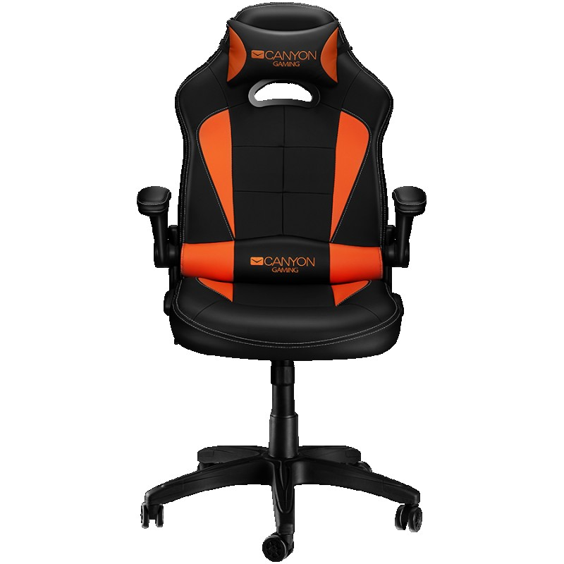 Gaming chair, PU leather, Original and Reprocess foam, Wood Frame, Butterfly mechanism, up and down armrest, Class 4 gas lift, Nylon 5 Star