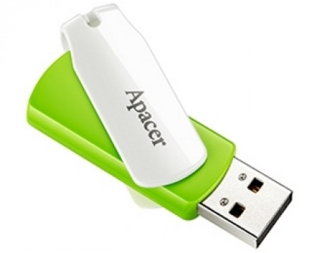 APACER 32GB AH335 USB 2.0 flash zeleni