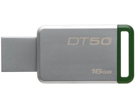 Kingston 16GB DT USB 3.0 DT5016GB metal - zeleni