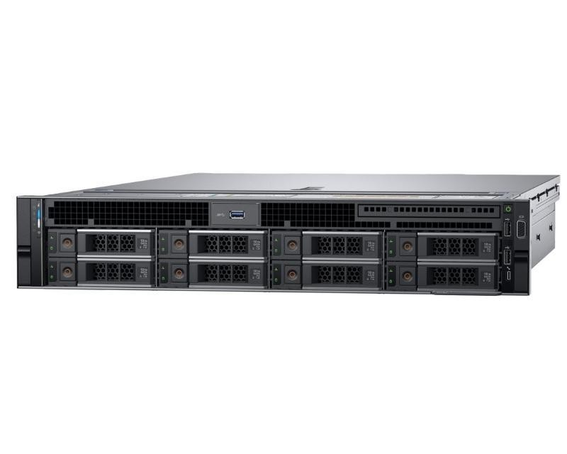 DELL PowerEdge R740 1xXeon Silver 4110 8C 2x8GB H330 2x200GB SSD 3x2TB SAS 750W (1+1) 3yr NBD + Sine za Rack + Broadcom 5720 QP 1GB