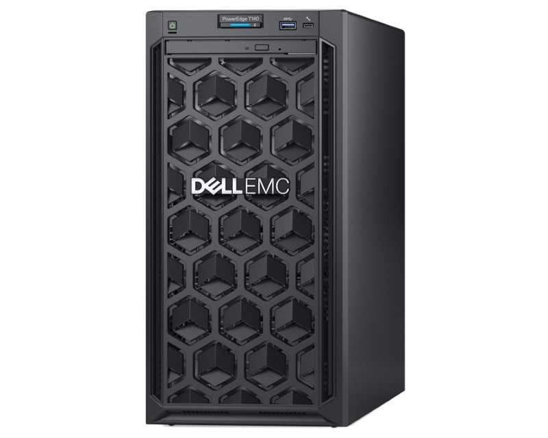 DELL PowerEdge T140 Xeon E-2224 4C 16GB H330 1TB SATA DVDRW 365W 3yr NBD