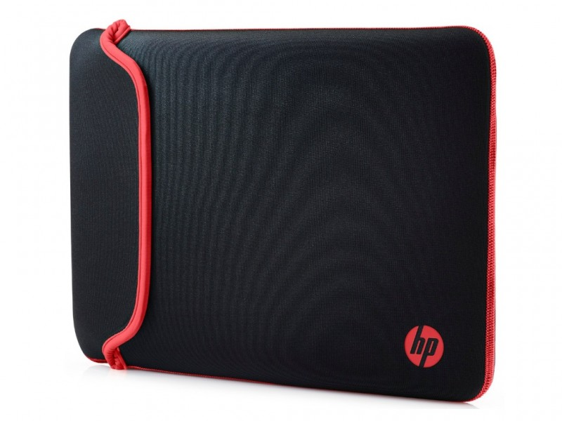 HP Chroma Sleeve 14 Case Black Red (V5C26AA) (V5C26AA)