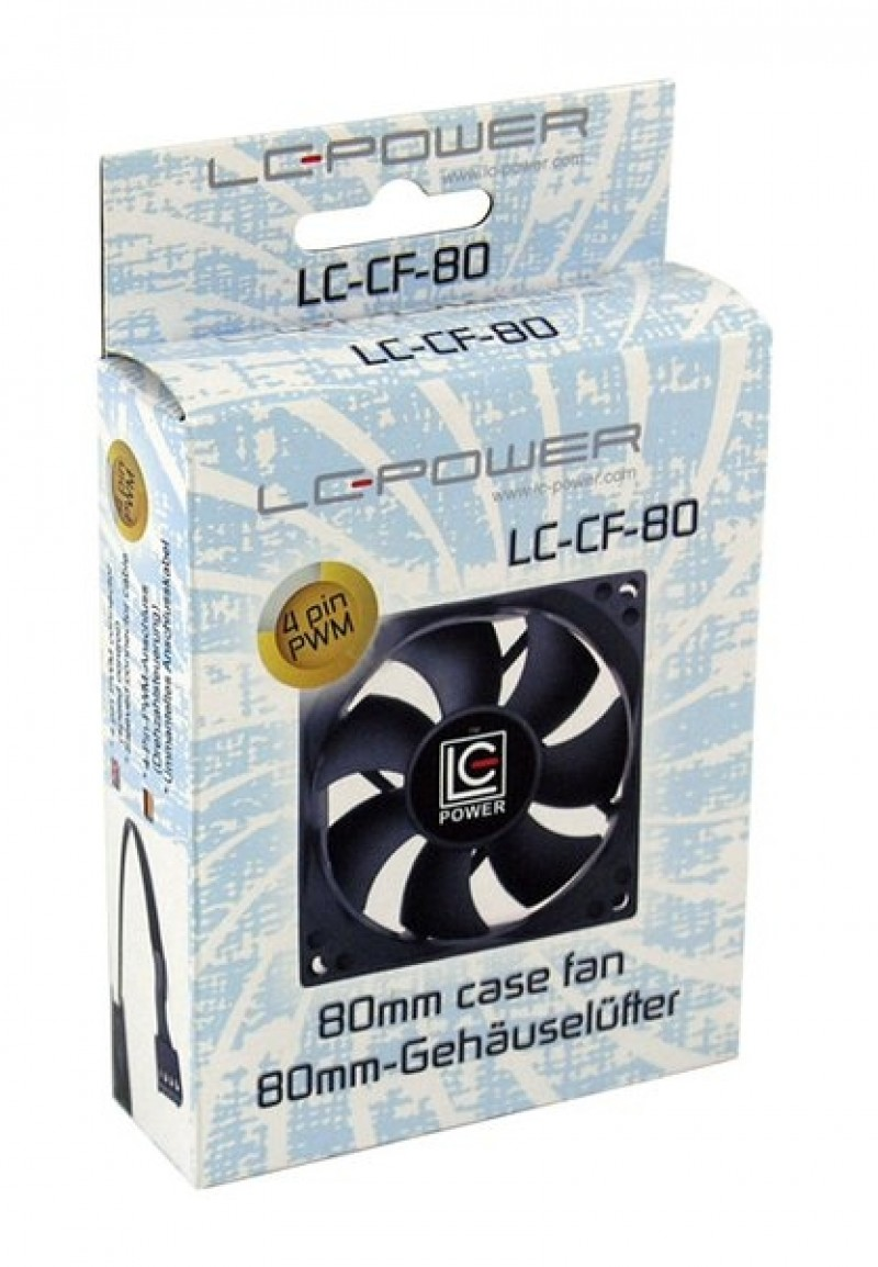 Cooler PSU LC Power LC-CF-80 80mm PWM