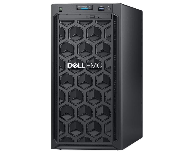 DELL PowerEdge T140 Xeon E-2134 4C 16GB H330 2x4TB NLSAS DVDRW 365W 3yr NBD