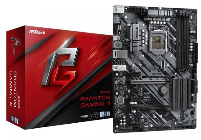 MBO ASRock 1200 Z490 PHANTOM GAMING 4